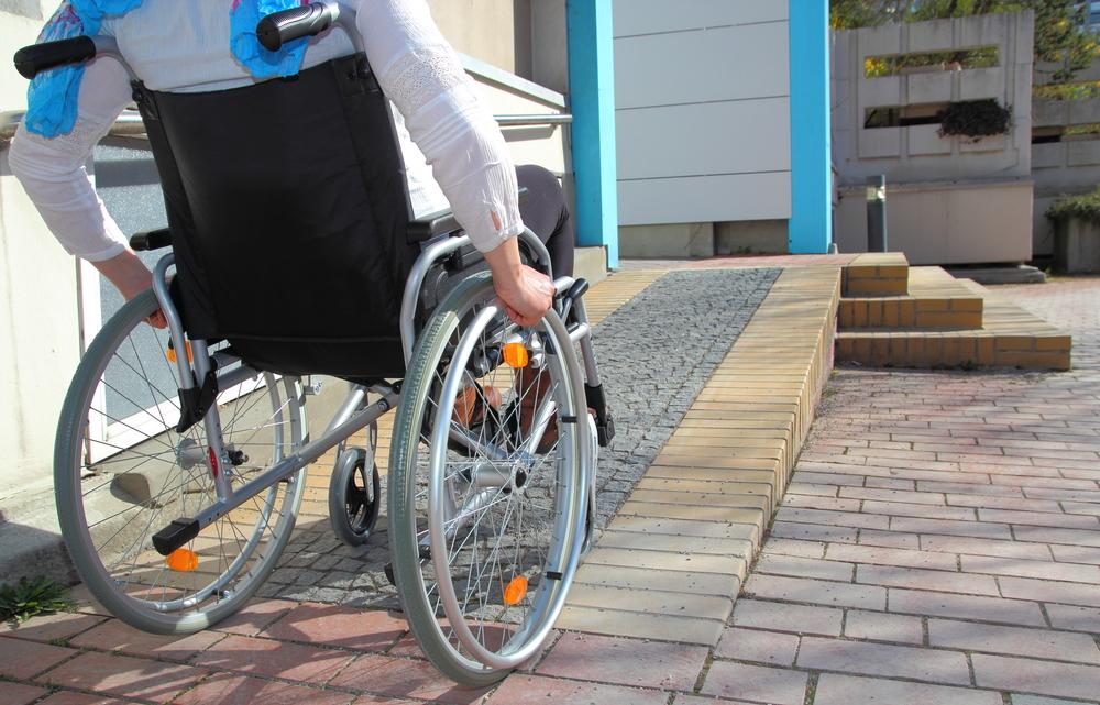 disabled ramp